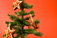 MY bright christmas Stars 6 Stock Photography