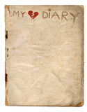 My Broken Heart Diary Royalty Free Stock Photography