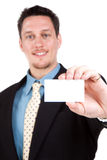 My business card Stock Image