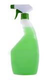 Myć butelki. Zdjęcia Royalty Free