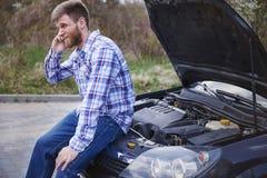 My car is broken Stock Image