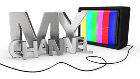 My Channel Stock Photo