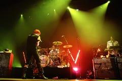 My Chemical Romance (band) performs at Sant Jordi Club Stock Image