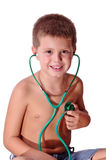 My child\'s own physical exam Stock Photo