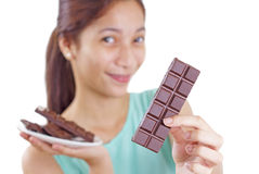 My Chocolate Royalty Free Stock Photography