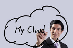 My cloud Royalty Free Stock Images