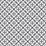 My Colors. Vector Illustration of Geometric Seamless Pattern for Design, Website, Background, Banner. Element for Wallpaper or Textile. Black and White Texture stock illustration
