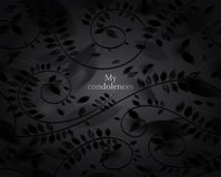 My condolences Royalty Free Stock Images