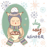 My cozy winter. Stock Image