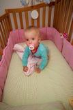 In my crib Stock Photo