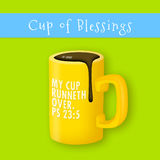My Cup Runneth Over Royalty Free Stock Images