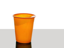 My cup almost runneth over. Water to the brim. Stock Images