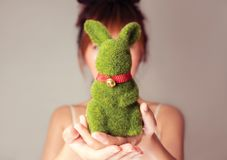 My Darling Rabbit Stock Images