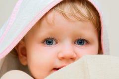 My daughter portrait stock photo