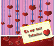 My dear Valentine Royalty Free Stock Image