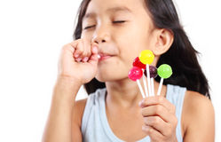 My Delicious Lolllipop Stock Photography