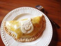 My dessert. Chicken pie super Royalty Free Stock Photo
