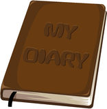 My diary notebook Royalty Free Stock Photos
