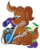 My dog 005. Illustration for children Stock Photo