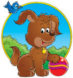 My dog 006. Illustration for children Stock Image