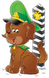 My dog 021. Illustration for children Stock Image