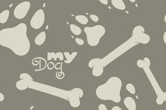 My Dog pattern Stock Photos