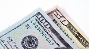 My dolara makro- zbliżenie Zdjęcia Stock