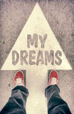My dreams concept Royalty Free Stock Photos