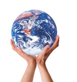 My Earth Within My Hands stock photos