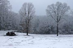 Falling Snow stock image