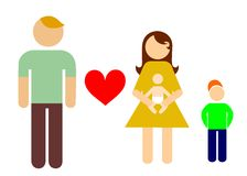 My family Royalty Free Stock Images
