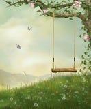 My fantastic swing stock image