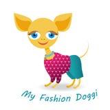 My fashion doggy royalty free stock image