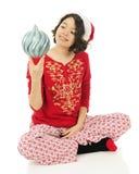 My Favorite Christmas Bulb Royalty Free Stock Photo