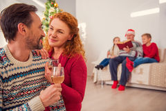 This is my favorite family holiday Royalty Free Stock Photos