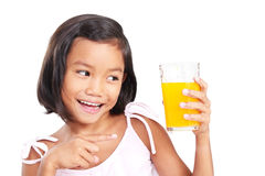 My Favorite Orange Juice Stock Image