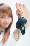 My first car Royalty Free Stock Image