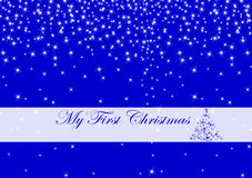 My first Christmas Royalty Free Stock Images