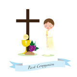 My first communion Stock Images