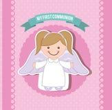 My first communion royalty free illustration