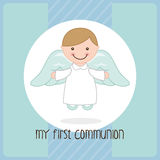 My first communion Royalty Free Stock Photos