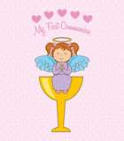 My first communion. Design, vector illustration eps10 graphic Royalty Free Stock Images