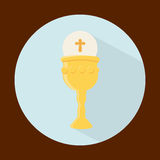 My first communion Royalty Free Stock Images