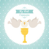 My first communion Stock Image