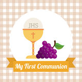 My first communion Stock Photo