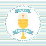My first communion Stock Photography