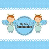 My first communion design Stock Images