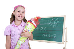 My first day of school Royalty Free Stock Photography