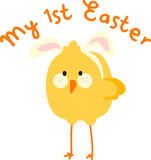 My First Easter Chick Royalty Free Stock Photo