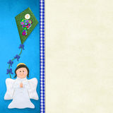 My First Holy Communion invitation card Stock Photography